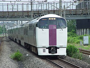 215 Zushi to Shinagawa at Shin-Kawasaki 20020713.jpg