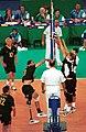 231000 - Standing volleyball Grant Prest spikes - 3b - 2000 Sydney match photo.jpg