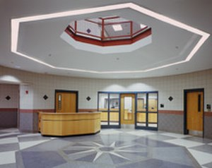 East Brunswick High School - First Floor Lobby Of EBHS