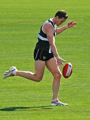 Jason Blake (footballer) - Blake at training prior to the 2009 AFL Grand Final