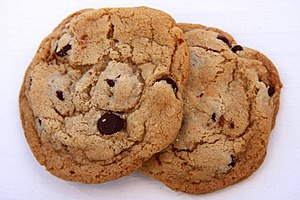 Cookie - Image: 2Chocolate Chip Cookies