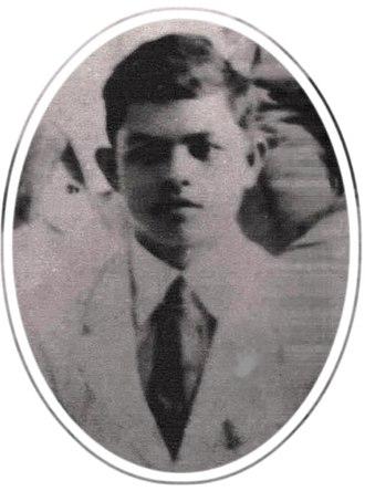 Ludovico Arroyo Bañas - Image: 2Lt Ludovico Arroyo Bañas