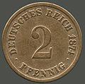 2 pfennig 1874 reverse.jpg