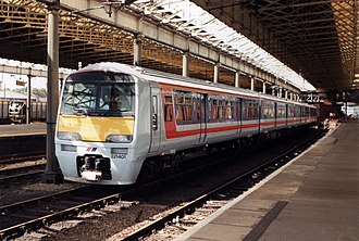 British Rail Class 321 - 321401 in Network SouthEast livery