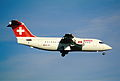 329ah - Swiss Avro RJ 85, HB-IXG@ZRH,30.10.2004 - Flickr - Aero Icarus.jpg