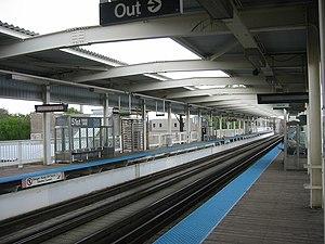 51st station - Image: 51st CTA 060518