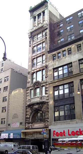 Macy's Herald Square - An early Macy's building, dating from 1894, at 56 West 14th Street, designated a NYC landmark in 2012
