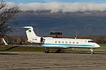 5H-ONE Gulfstream G-V-SP (G550) GLF5 - Tanzania Government (23146846076).jpg