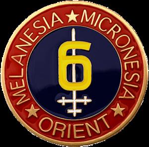 6th Marine Division (United States) - 6th Marine Division insignia