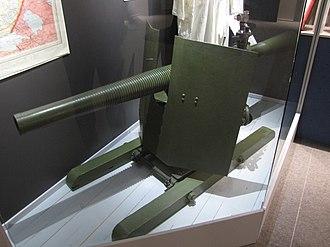 Leonid Kurchevsky - Image: 76mm DRP recoilless gun