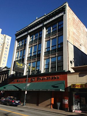 Rich's (department store) - Rich's 1906 building, known as the M. Rich and Brothers and Company Building at 52-54-56 Whitehall, now 82 Peachtree St. SE, as seen in 2013