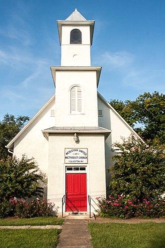 Calverton Historic District - Image: 9711Bristersburg 9607