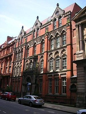 Edmund Street - 98 Edmund Street, a mid-Victorian building