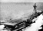AD-5W of VAW-12 landing on USS Intrepid (CVA-11) 1956.jpg