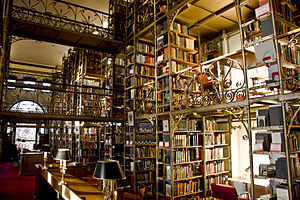 Cornell University Library - The A.D. White Reading Reading Room within Uris Library
