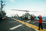 AH-1W Cobras aboard USS Tripoli (LPH-10) off Somalia in 1992.jpeg