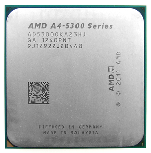 AMD Accelerated Processing Unit - AMD A4-5300 (Trinity)