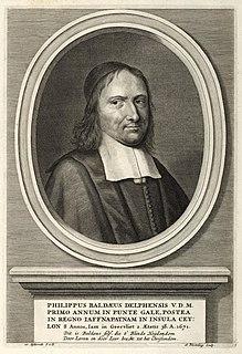 Philippus Baldaeus Dutch Christian missionary