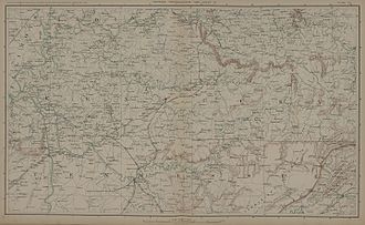 Franklin–Nashville Campaign - Kentucky-Northern Tennessee, 1864.