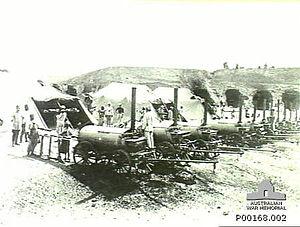 Battle of Hareira and Sheria - Ottoman bakery at Sheria