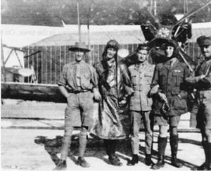 Battle of Romani - Members of the Australian Flying Corps in 1916