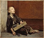 A Martyr or The Violette Merchant (c. 1885 - Fernand Pelez).jpg