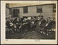A band of seven blinded soldiers playing the banjo Wellcome L0072161.jpg