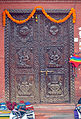 A carved wooden door in Nepal (01).jpg