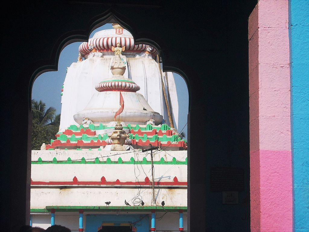 Temple through the main gate