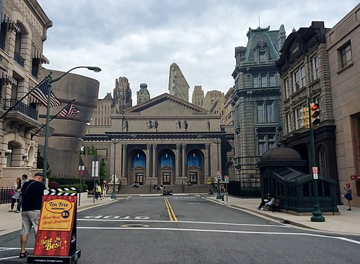 A location in Universal Studios Japan