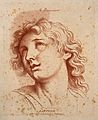 A male figure whose physiognomy expresses ecstasy. Etching i Wellcome V0009334.jpg