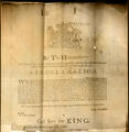 A proclamation to seize James Gillam, English Smith and Humphrey Clay, pyrates.png