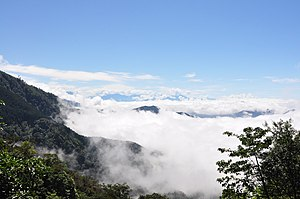 Dasyueshan - Image: A sea of clouds in