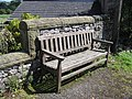 A special bench in Austwick - geograph.org.uk - 1726521.jpg