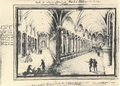Abbaye de St Victor - Cloitre fin XVIII.PNG