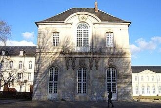 Bec Abbey - Image: Abbaye du Bec église abbatiale