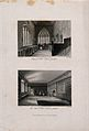 Abbott's Hospital, Guildford, Surrey; two views of the chape Wellcome V0012721.jpg