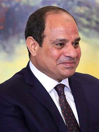 Abdel Fattah el-Sisi - Image: Abdel Fattah el Sisi September 2017