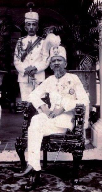 Abdul Hamid Halim of Kedah - Abdul Hamid Halim Sultan of Kedah