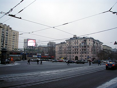 How to get to Абельмановская Застава with public transit - About the place