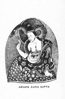 Abhayakaragupta Buddhist monk, scholar and tantric master