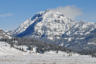 Abiathar Peak mountain in United States of America