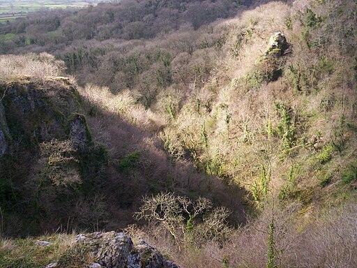 Above Ebbor Gorge