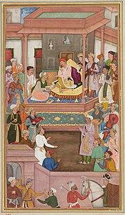 Abul-Fazl ibn Mubarak vizier
