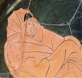 Achilleis (trilogy) - Image: Achilles embassy Louvre G264 n 2