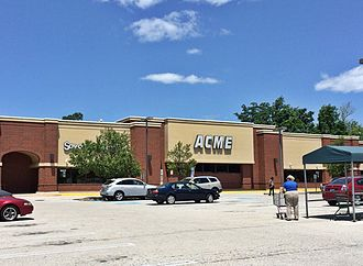 Acme Markets - Acme in King of Prussia, Pennsylvania.