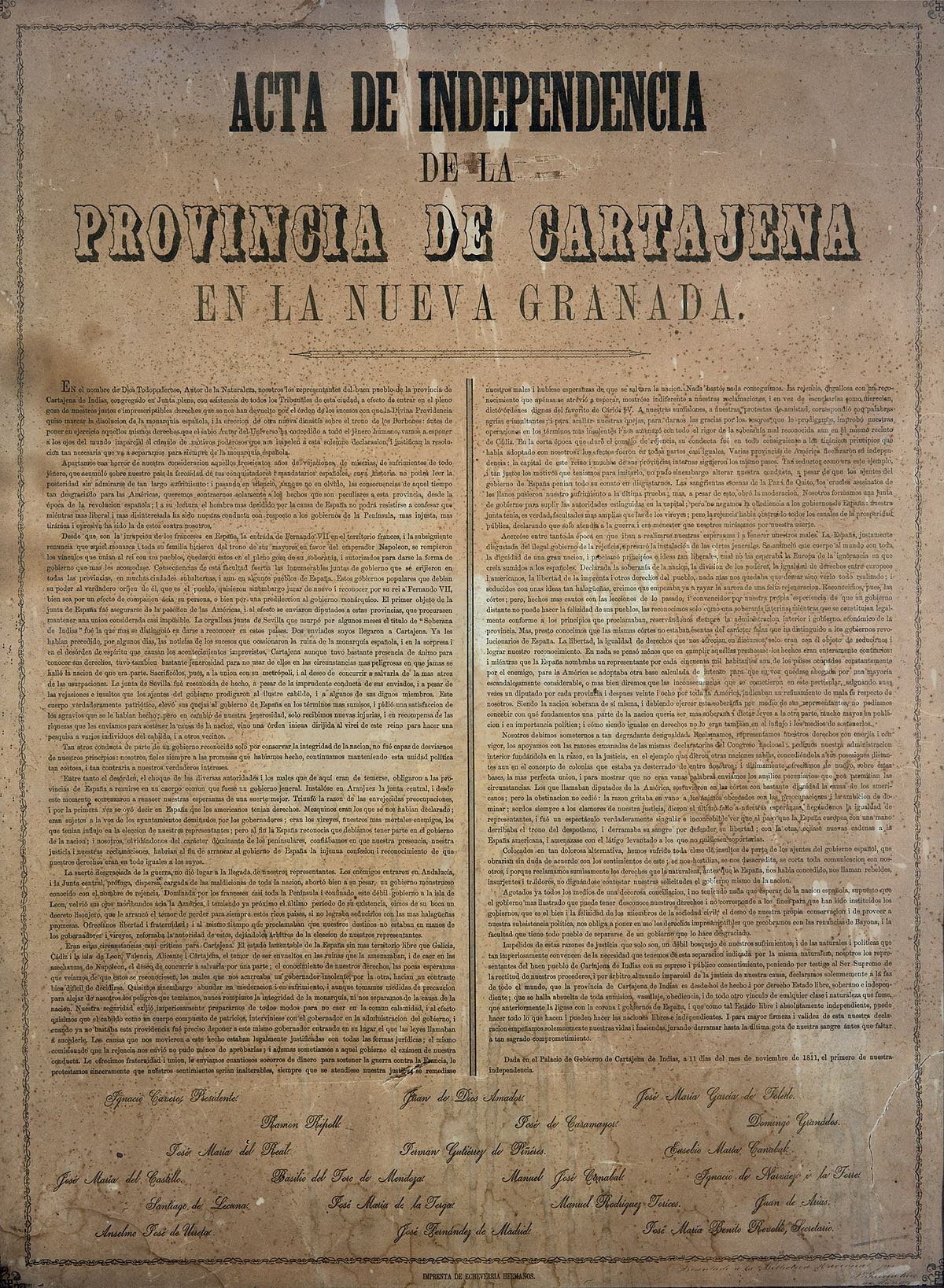 Historia de Cartagena de Indias - Wikipedia, la enciclopedia libre