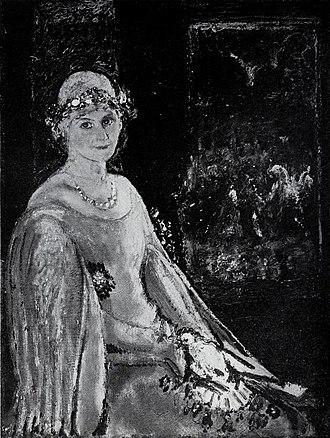 Clifford Addams - Image: Addams Clifford Black Rosette 1926Expo