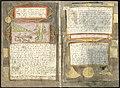 Adriaen Coenen's Visboeck - KB 78 E 54 - folios 115v (left) and 116r (right).jpg