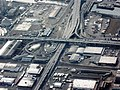 Aerial view of Seattle Freeway and Highway 99 cloverleaf in Seattle.jpg